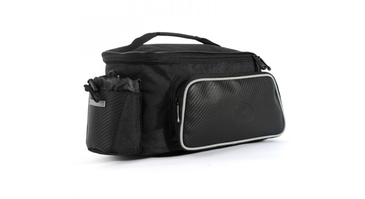 BV Bike Commuter Carrier Trunk Bag with Velcro Pump Attachment ... 79e1e682911c6