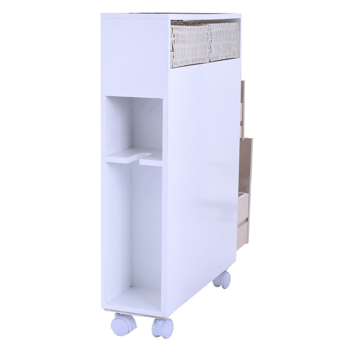 Tarragona White Floor Bathroom Cabinet : Bathroom floor cabinet white d
