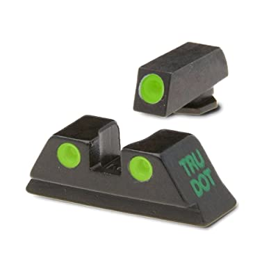 Meprolight Glock Night Sight Fits Glock 17,19,22,23,31,32,33,34,35,37,38 and 39 Gap Caliber