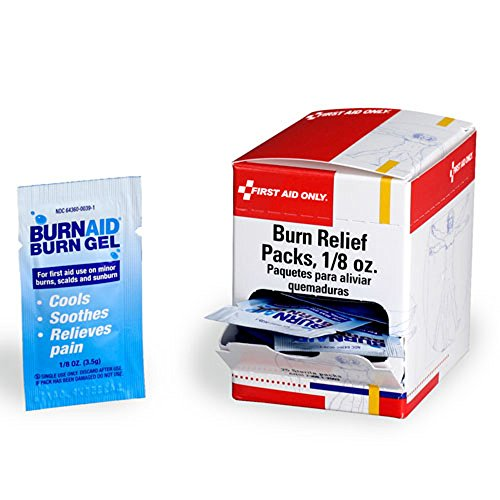 Burn relief pack- 3.5 gm- 25 per dispenser box Burn Pack