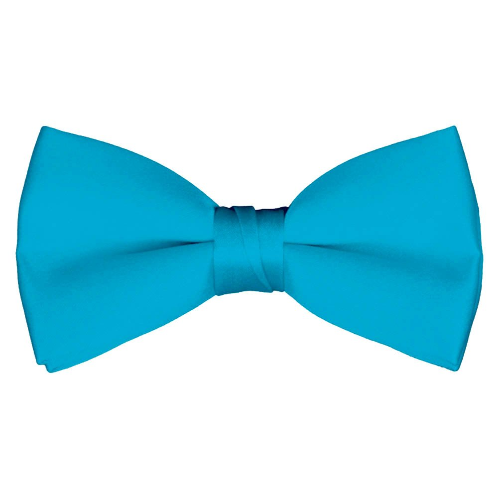 Mens and Boys Deluxe Satin Adjustable Bow Tie By Tuxgear