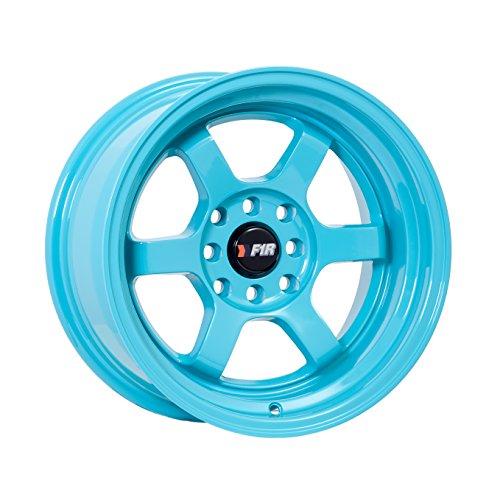 (15x8 F1R F05 Teal Rim Offset(0) Lug(4x100/4x114.3) Bore(67.1) 1 Wheel -- F05158T0)