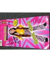 Girls Hippie Chick Costume 4/6