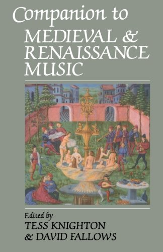 Companion To Medieval And Renaissance ()