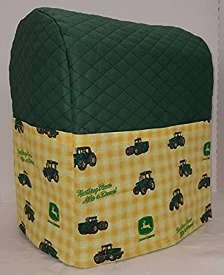 Green & Yellow Tractor Kitchenaid Stand Mixer Cover