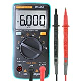 KASUNTEST Mini Auto Ranging Digital Multimeter 6000 Counts TRMS Portable Multitester OHM/Hz/Temp/Duty Cycle