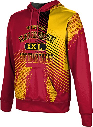 ProSphere Men's Viejas Fire Department Hustle Pullover Hoodie - Viejas Alpine