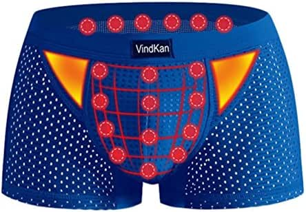 VKWEIKU 2017 Men's Pennis Enlargement Underwears Magnetic Micromodal Trunks Therapy Boxer Briefs