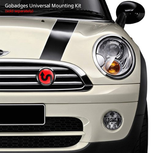 GoBadges Sign 101 RED 3 Magnetic Grill Badge//UV Stable /& Weather-Proof//Works Grill Badge Holder CD0451