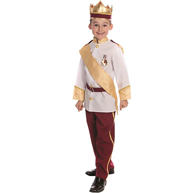 8042af2f1 Amazon.com  Dress Up America Royal Prince Costume for Boys Prince ...