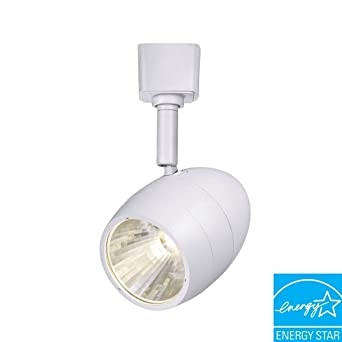 Hampton bay 1 light 256 in white led dimmable track lighting hampton bay 1 light 256 in white led dimmable track lighting fixture aloadofball Image collections