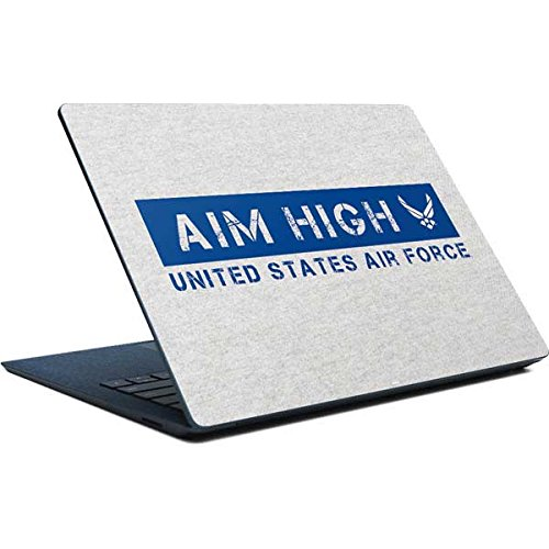 Skinit US Air Force Surface Laptop Skin - Aim High United States Air Force Design - Ultra Thin, Lightweight Vinyl Decal Protection