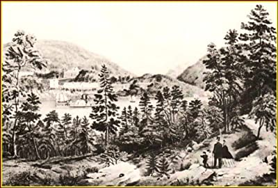 Currier & Ives: U.S. Military Academy, West Point. 1862, Art Print 11.1/2 X 9 inches 1979