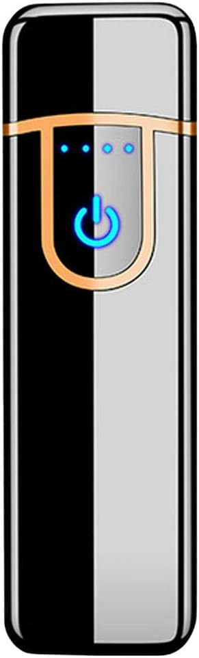 Briquet USB Rechargeable Briquet temp/ête Coupe-Vent Briquet /électronique /écologique sans Flamme