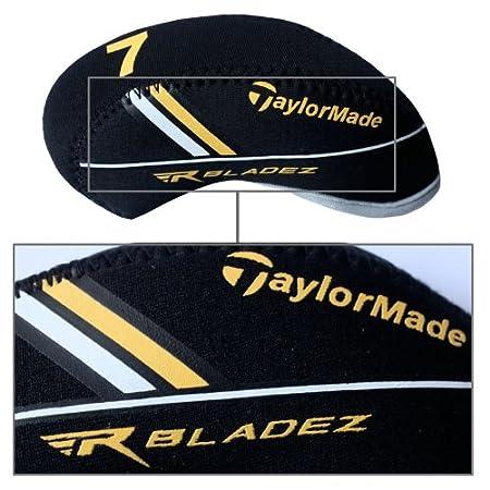 Taylormade Rbladez funda de palo de golf hierro 10pcs/set MT/T12 negro