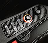 seat leon - YUWATON Buy 1 Get 1 Free Car Seat Edge Central Control Button Panel Decoration for Seat Leon Cupra.