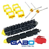 Gabo Filter GBV-P105 GBV-0006 GBV-P102 GBV-0061 iRobot Vacuum Cleaner Filter Kit Fits Roomba 700 Series Replacement Accessory