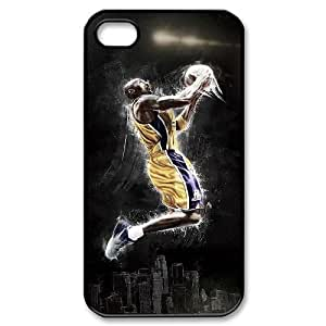 DIY Protective Snap-on Hard Back Case Cover for iPhone 4,4S with Kobe Bryant