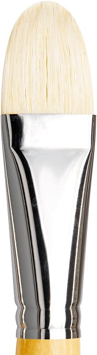 Size 20 da Vinci Series 7467 European Style Straight White Hog Bristle Filbert Brush