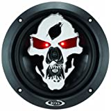 BOSS Audio SK653 Phantom Skull 350-Watt 3-Way Auto 6.5-Inch Coaxial Speaker