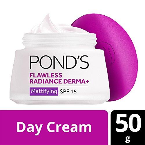Pond's Flawless Radiance Derma+ SPF 15 PA+++ Mattifying Day Cream, 50g