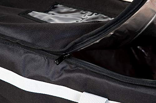 Candid- Insulated Food Delivery Bag (21''L x 14''W x 15''H), Hot/Cold Thermal Lightweight Grocery, Catering, Delivery or Party Bag. by CANDID (Image #3)
