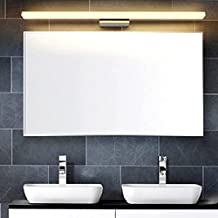 Modern Bathroom Wall Light Mirror Front LED Lighting Waterproof Antifogging Steel+Aluminum+Acrylic (20W 47.24 inch, Warm white)