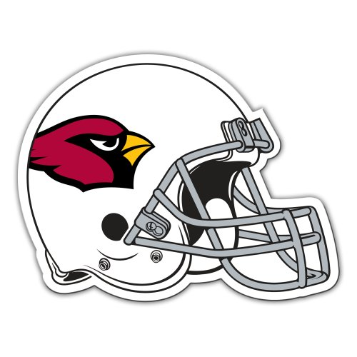 NFL Arizona Cardinals 12-Inch Vinyl Helmet Magnet