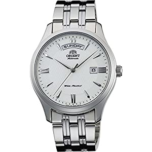 ORIENT watch WORLD STAGE COLLECTION world stage collection mechanical self-winding WV0251EV milky white WV0251EV Men