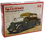 ICM Models Type 2,5-32 KZS 8 WWII German Light Fire Truck Model Kit from MMD Holdings, LLC
