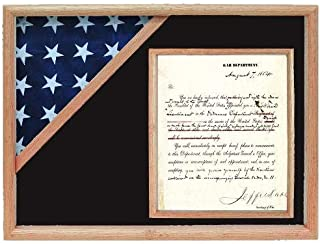 product image for Shadow Box for 3' x 5' Flag with 8.5 x 11 Document Holder