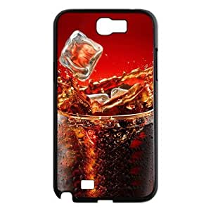 Cool Ice Cola Drink Funny Fashion Red Hard Case Cover for Galaxy Note 2 N7100