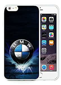 Unique and Grace Case BMW 4 iPhone 6 Plus 5.5 Inch TPU Case in White by runtopwell