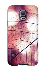 Hot High Grade Flexible Tpu Case For Galaxy S5 - Leaf