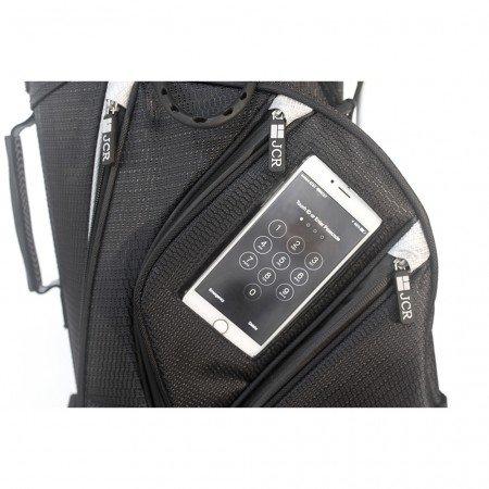 JCR Golf 550020 DL550 Stand Bag, Navy/Steel by JCR Golf (Image #2)