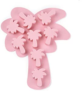 UR URLIFEHALL 2PCS Coconut Tree Resin Food Grade Silicone Molds Fondant Molds for DIY Cake Chocolate Candy Decoration Jewelry Making