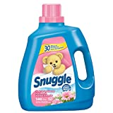 Snuggle Fresh Spring Blossom Fabric Softener 140 Wash Loads, 120 Ounce