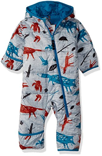 Burton Youth Minishred Infant Buddy Bunting Suit, Big Bad Wolf, 6-12m