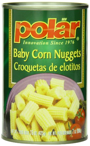 Baby Corn (MW Polar Canned Vegetables, Baby Corn Nuggets, 15-Ounce (Pack of 12))