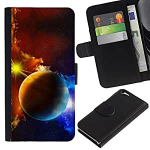 All Phone Most Case / Oferta Especial Cáscara Funda de cuero Monedero Cubierta de proteccion Caso / Wallet Case for Apple Iphone 6 // Space Planet Galaxy Stars 45