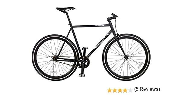 Rocasanto Bike - Bicicleta Fixie v, tamaño 54, Color Negro/Negro ...