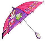 Shopkins Girls' Pink/Purple Umbrella