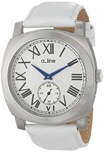 a_line Women's AL-80023-02-WH Pyar Analog Display Japanese Quartz White Watch