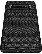 Spigen 605CS25799 Liquid Air Armor Designed for Samsung Galaxy S10 Case (2019), Matte Black