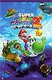 Nintendo (Super Mario Galaxy 2) Video Game Poster Print - 22x34 Poster Print, 24x36