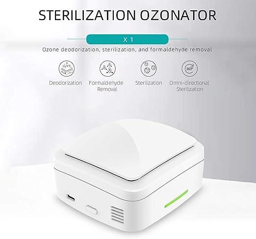 XYFW Caja Esterilizadora Doméstica Desinfección De Ozono con ...
