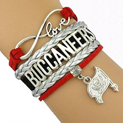 Tampa Bay Buccaneers Handmade Football Sports Team Bracelet with Charm by GotToHaveThis