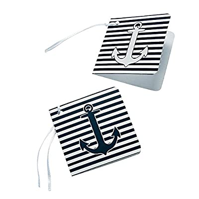 Nautical Gift Wrap Party Favor Tags - 24 pc