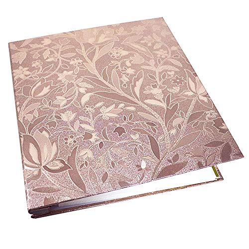 Photo Album Self Adhesive Magnetic DIY Scrapbook Accommodate 8X10 6X8 5X7 4X6 Photo Valentines Day Gift Back to School Gifts for Children(Champagne Gold-Big)