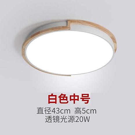 Dormitorio nórdico lámpara de techo sala de estudio balcón ...